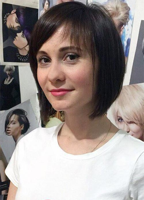 55 Incredible Short Bob Hairstyles Haircuts With Bangs Fashionisers