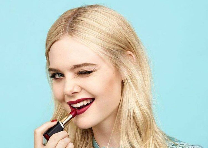 Elle Fanning is The New Face of L'Oréal