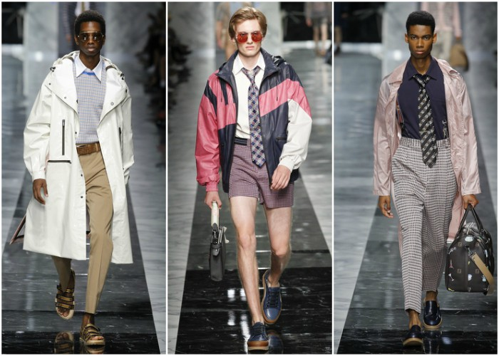 Fendi Men's Spring 2018 Collection