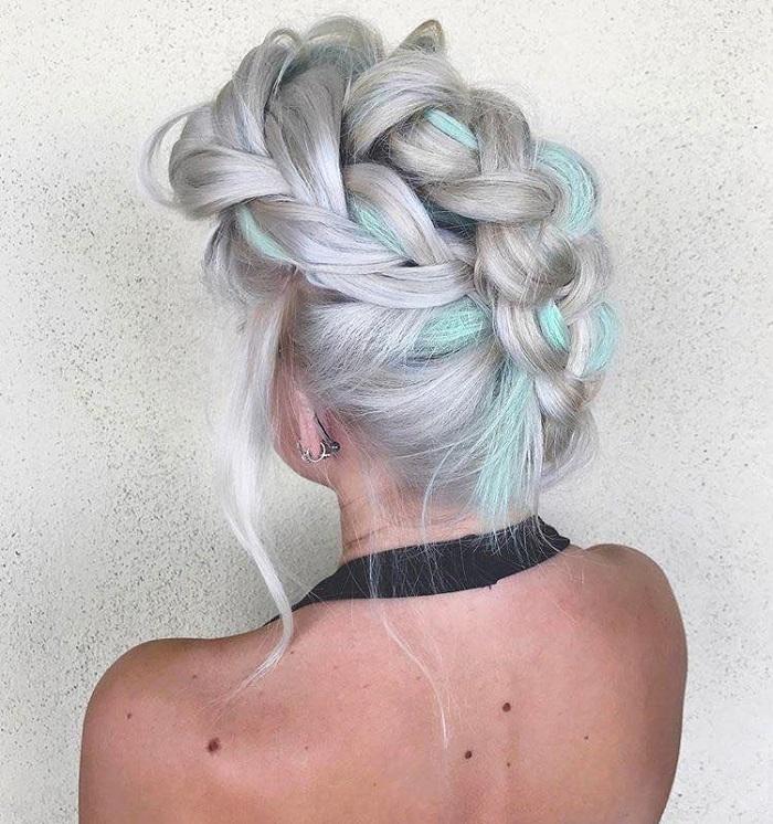 23 Gorgeous Dutch Braid Hairstyles upside down Dutch braid