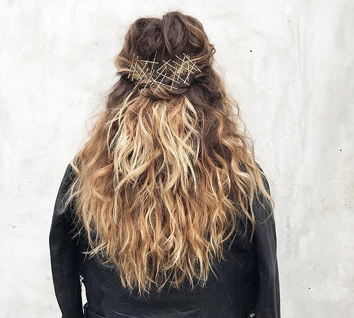 Fabulous Ways to Upgrade Your Hairstyle With Bobby Pins ombre hair waves