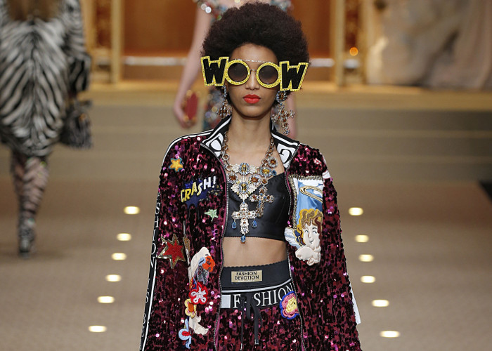 Dolce & Gabbana Fall 2018 Collection at MFW