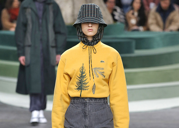 Lacoste Fall 2018 Collection at PFW