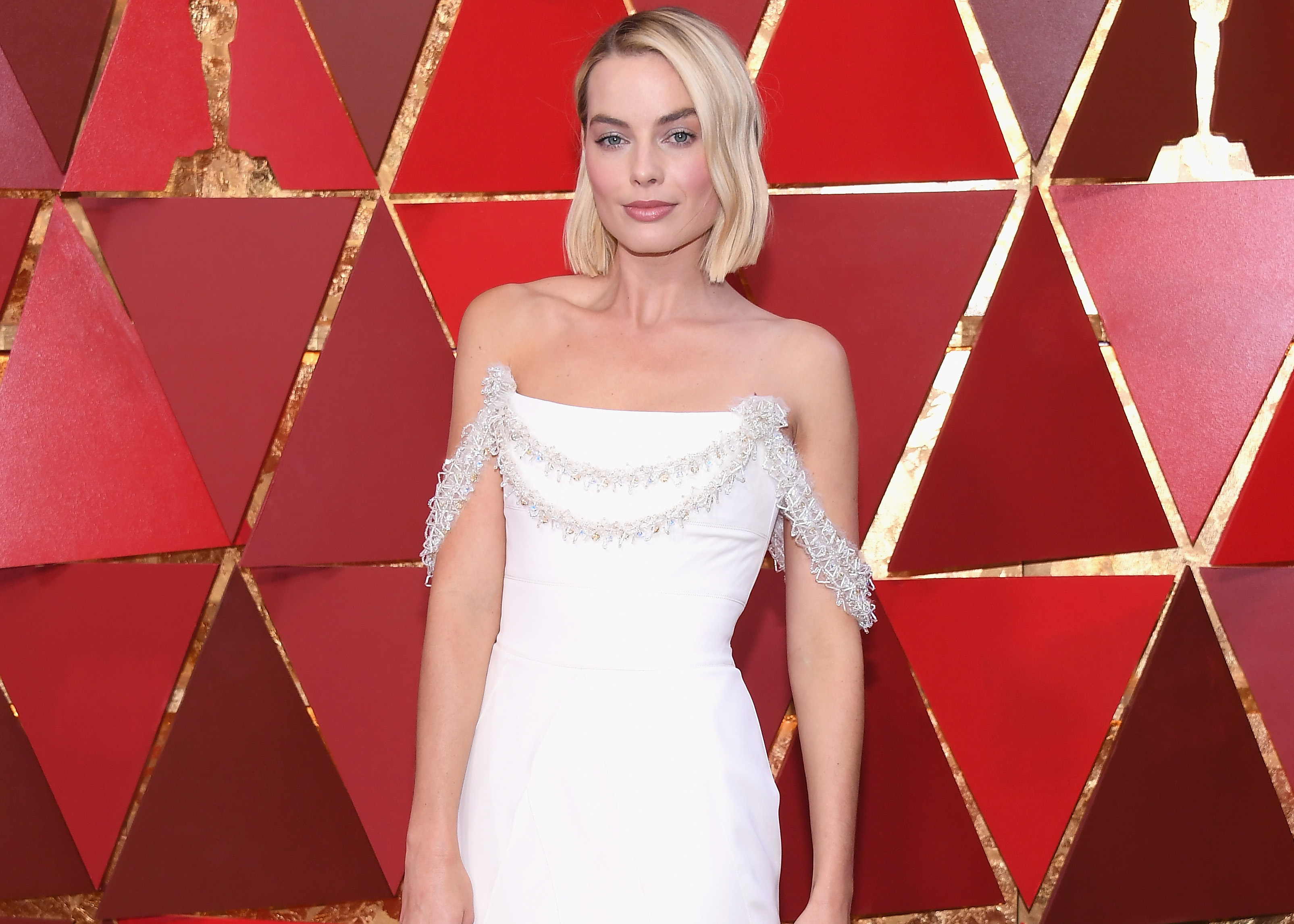 Best Dressed Celebrities at The Oscars 2018 Margot Robbie