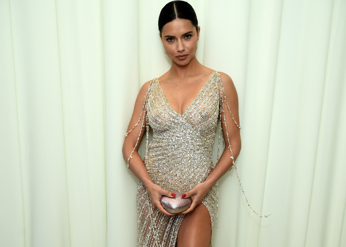 The Most Naked Dresses Spotted on The Red Carpet in 2018 Adriana Lima Elton John Oscars After Party