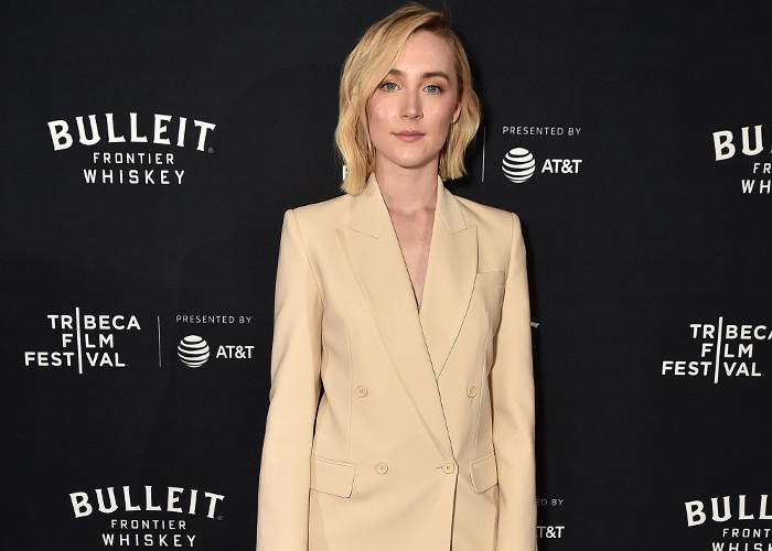 Stars Make Power Style Moves At The 2018 Tribeca Film Festival Saoirse Ronan