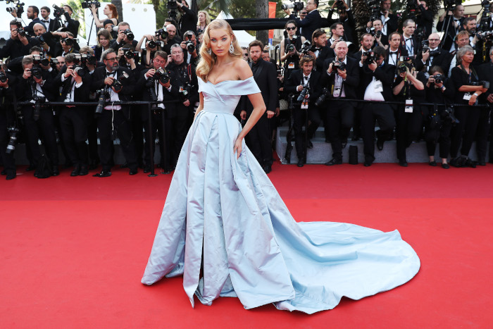 The Unexpected History of The Red Carpet Elsa Hosk