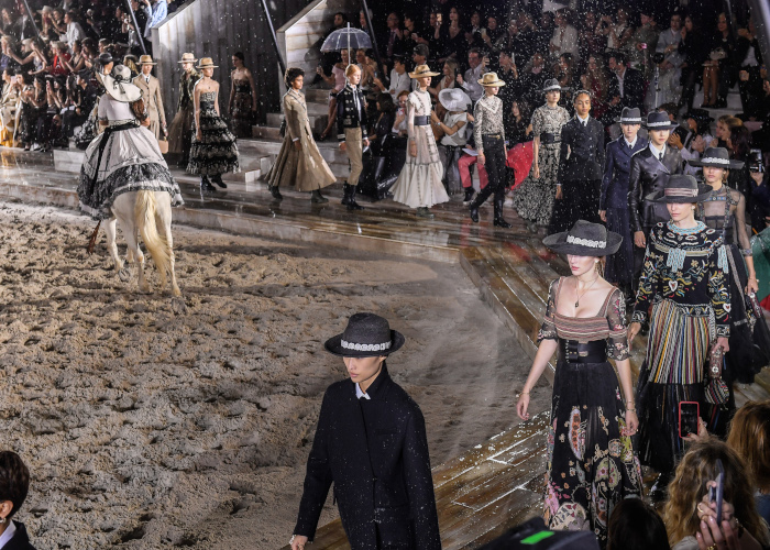 Christian Dior Couture S/S19 Cruise Collection : Runway At Grandes Ecuries De Chantilly