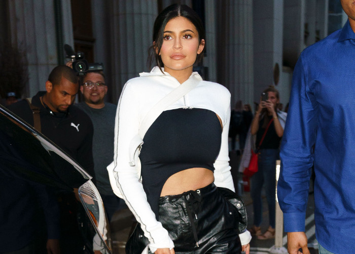 Kendall and Kylie Jenner Turn Heads in NYC in daring outfits
