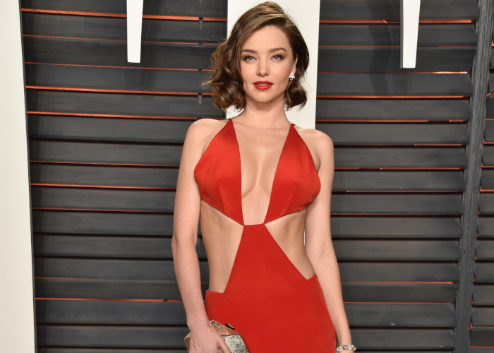 Celebrities-Show-Skin-With-Cutout-Dressses-Miranda-Kerr