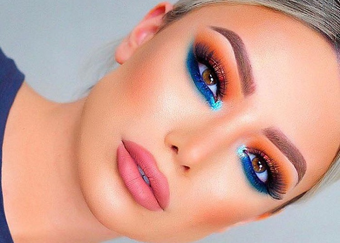 Colorful Makeup Looks to Don at A Summer Party (3)
