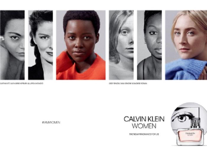 "Lupita Nyong'o & Saoirse Ronan Front CK's ""Women"" Fragrance Ads (1)"