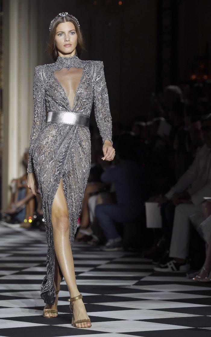 Zuhair-Murad-Fall-2018-Couture-at-Haute-Couture-Paris-Fashion-Week velvet suit