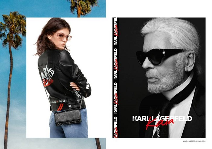 Kaia-Gerber's-Capsule-For-Karl-Lagerfeld-Is-Here-jeans jacket