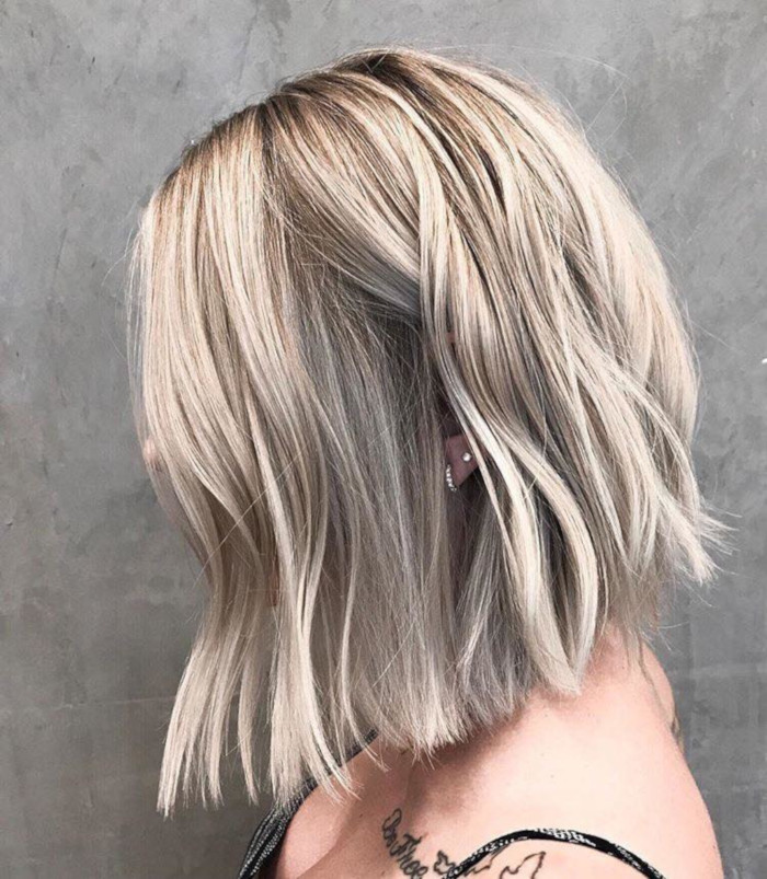 Shadow-Hair-is-The-Latest-Low-Maintenance-Trend-to-Try wavy bob