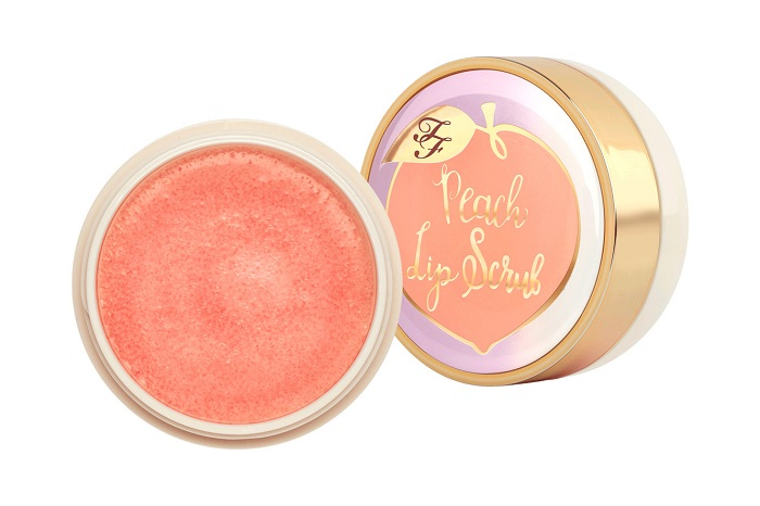 Too Faced Adds New Products To The Peaches & Cream Collection lip scrub