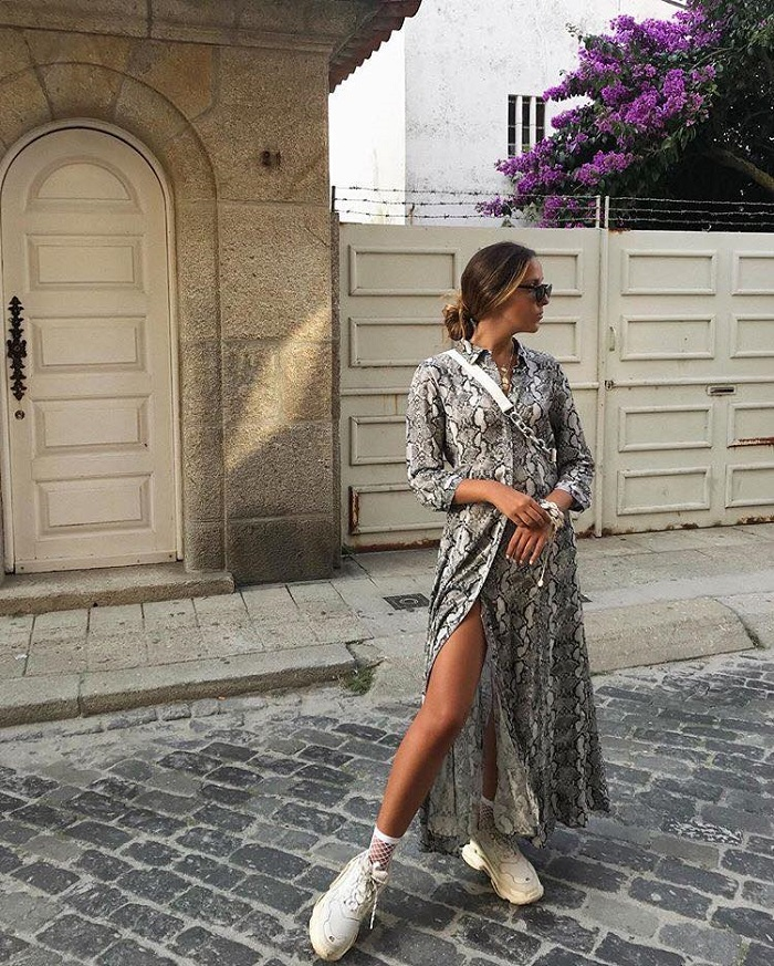 All-The-Snakeskin-Inspo-You-Need-To-Rock-This-Print dress