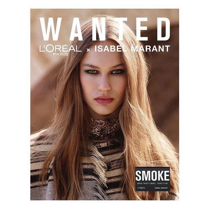 24cdb007199 Isabel Marant & L'Oréal Paris Unveil Makeup Collection | Fashionisers©