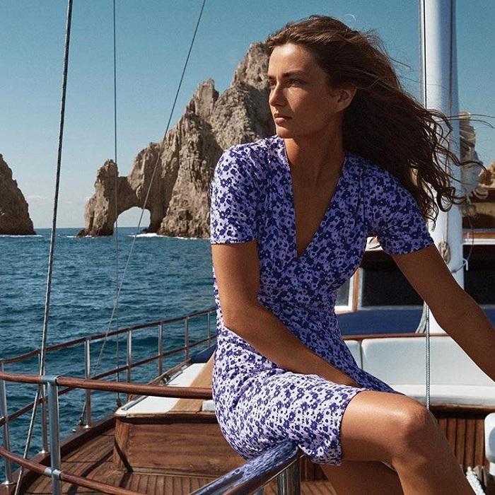 Will-Michael-Kors-Kill-Versace's-Italian-Glamour-floral dress