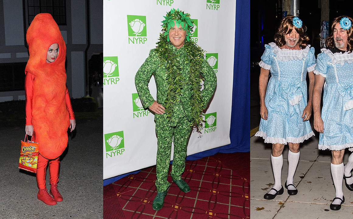 The Worst Halloween Costumes Worn By Celebrities Fashionisers C