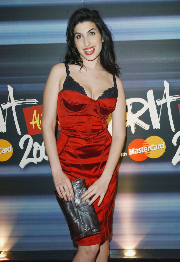 Amy-Winehouses-Iconic-Style-Still-Lives-On-1 red dress