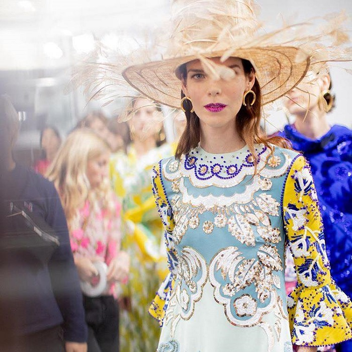 Fabulous Accessories From PFW You'll Want To Buy RN straw hat