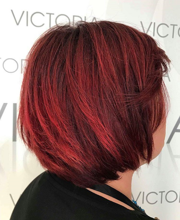 Flannel-Hair-Is-The-Trendiest-Fall-Color-You-Need-To-Try-dark red hair