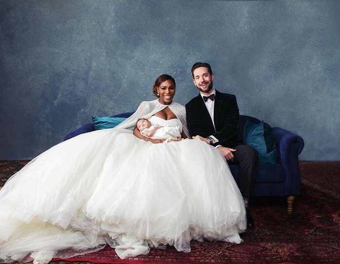 Get-Inspired-by-these-Celebrity-Wedding-Gowns-for-your-Wedding-serena williams