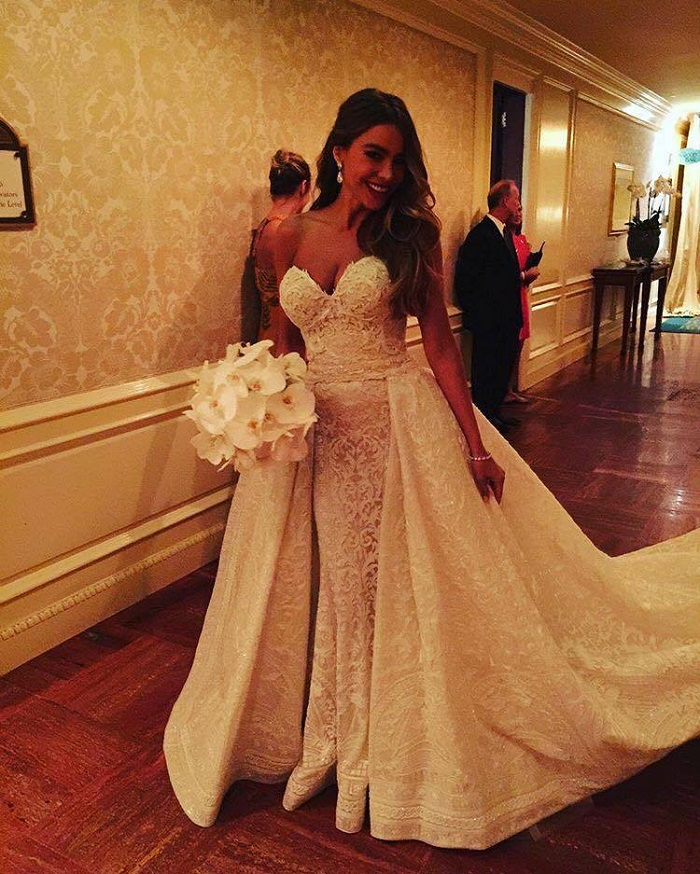 Sexiest-CelePhoto Credit: Getty Imagesbrity-Brides-Of-All-Times-sofia vergara