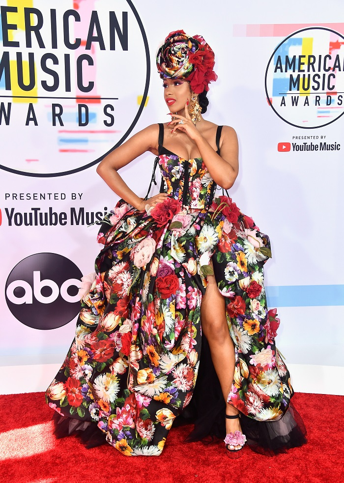 Sexiest Red Carpet Moments At The AMAs You Have To See cardi b