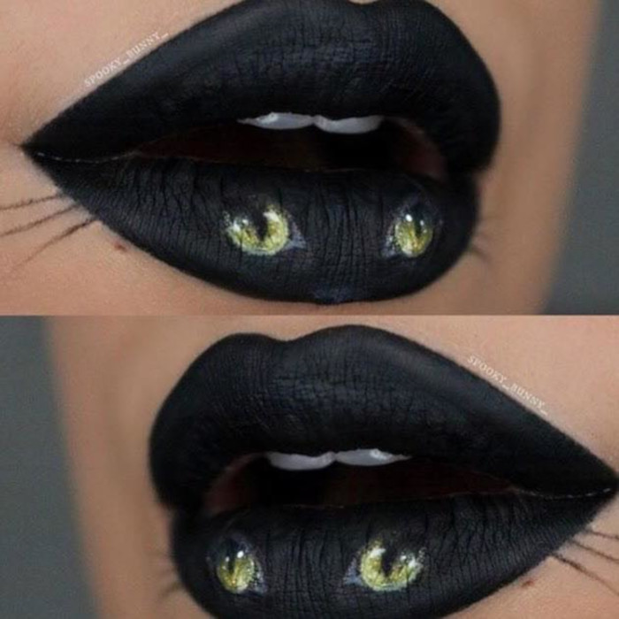 The Most Creative Lip Art Not Just For Halloween Fashionisers C Part 2
