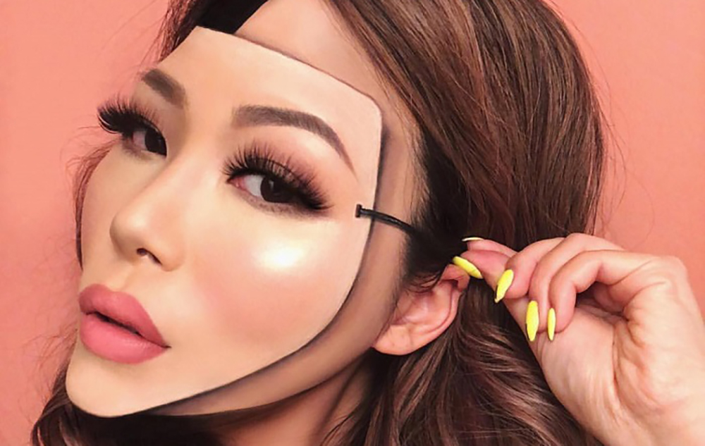 """The-Most-Mind-Blowing-""""Mask""""-Makeup-Looks-Seen-on-Instagram-2"""