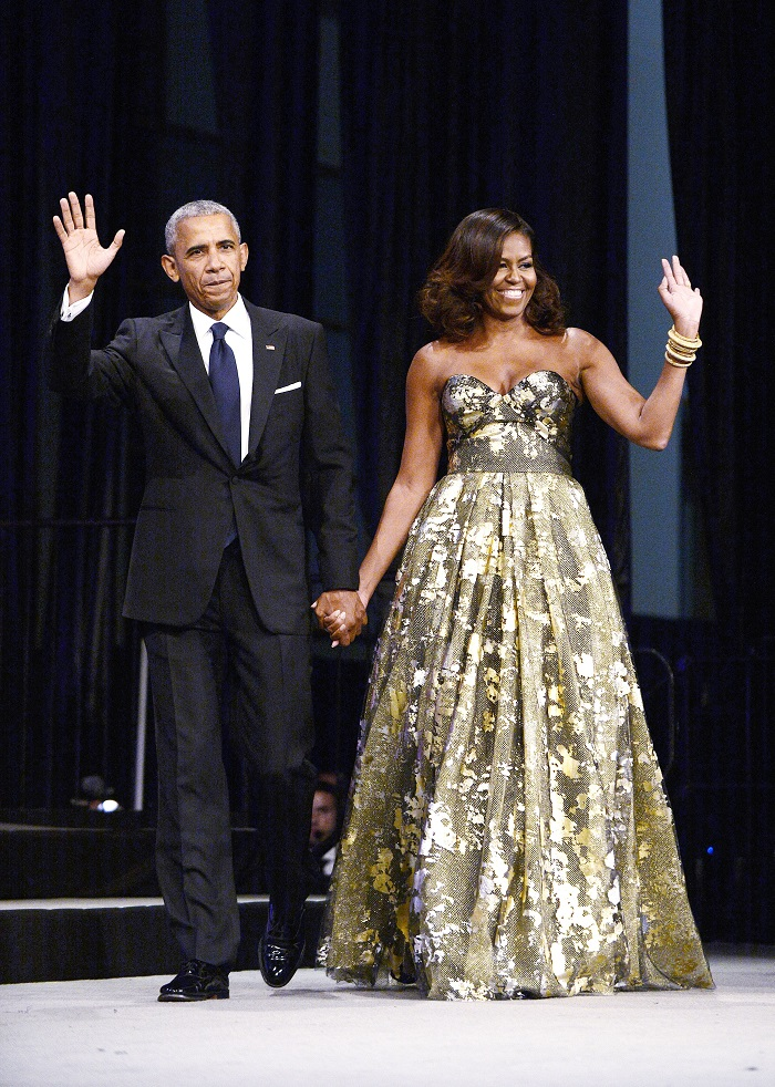 Michelle Obama's Fashionable Looks That Will Inspire You gown