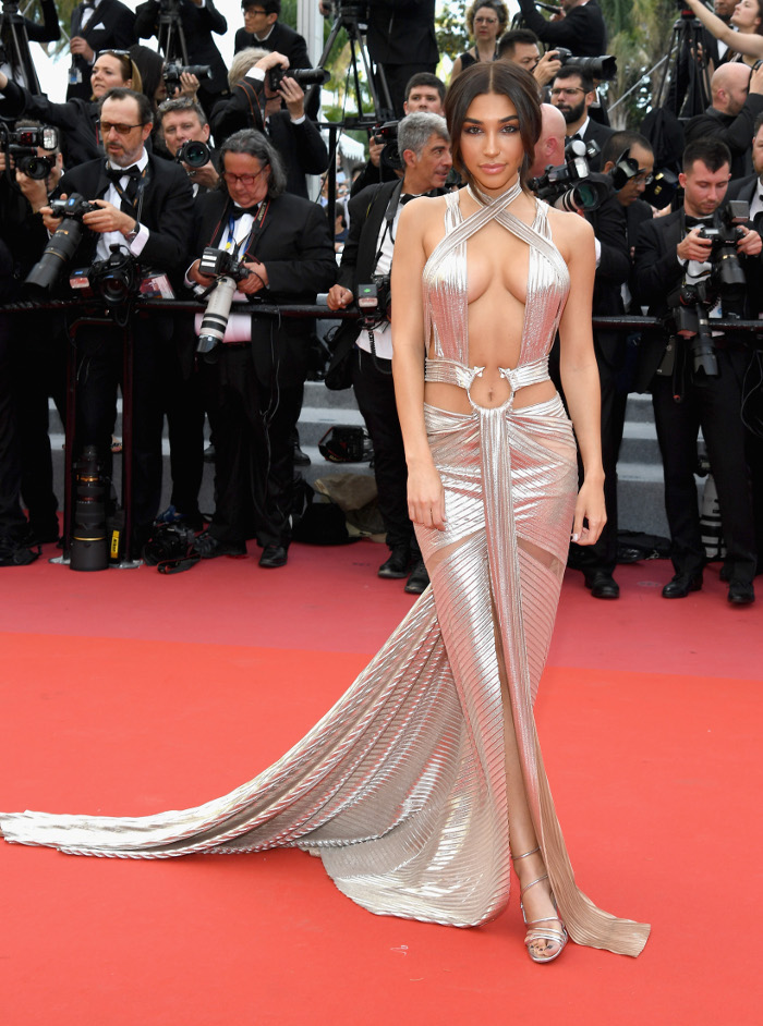 The Most Naked Dresses Of 2018  Fashionisers-4478