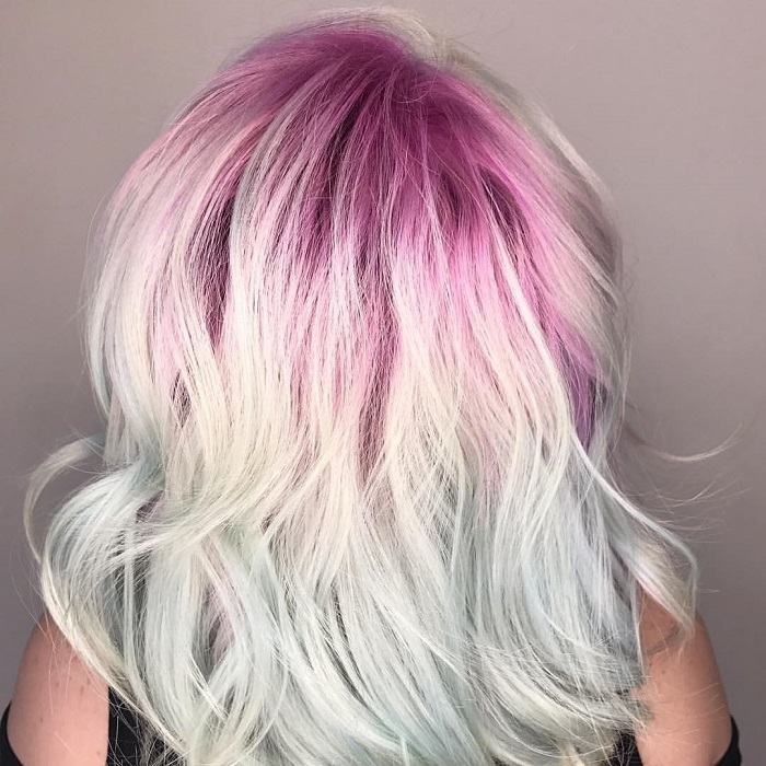 Upgrade-Your-Hair-With-Shadow-Roots-This-Winter-white magenta hair