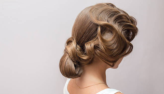 Hottest-Hairstyles-from-London-Fashion-Week-finger-wave