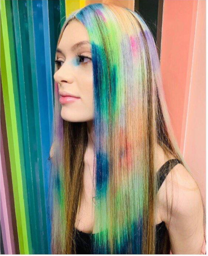 Colour Cloud is The Prettiest Spring Colorful Hair Trend 7