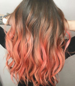The Ombre Hair Colors That Will Be Huge This Summer coral ombre