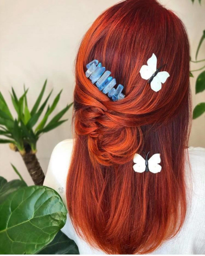 Copper Hair Is The Unexpected Summer Trend