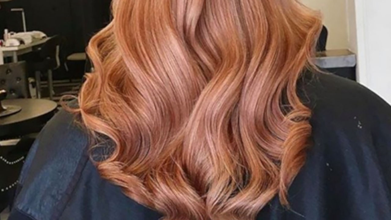 Ginger Peach Is Falls Prettiest Ombre Hair Color Trend ...