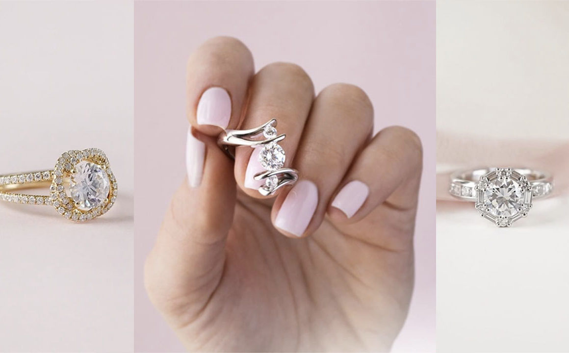 Unique Engagement Rings For The Unconventional Bride Fashionisers C