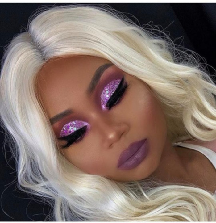 X Oh-So-Pretty Lavender Makeup Looks to Recreate