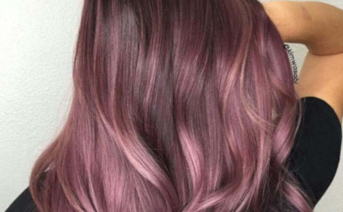 Blackberry hair is trending for Fall 8