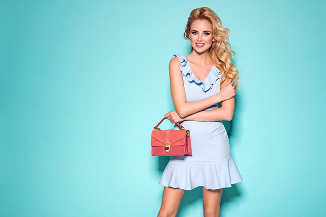 how-to-wear-pastel-colors-fashionisers-pastel-blue-dress