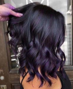 dark hair colors for fall