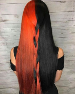 halloween hair color