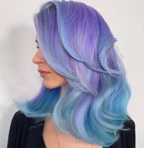 lavender hair colors for fall