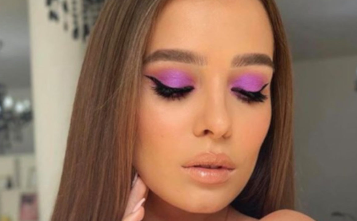 lavender makeup for fall