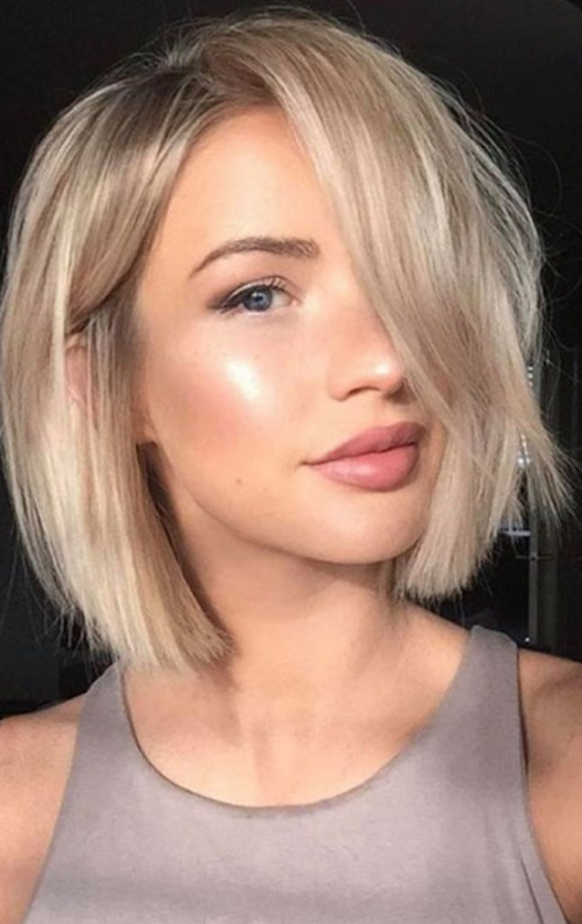 short haircuts for thin hair