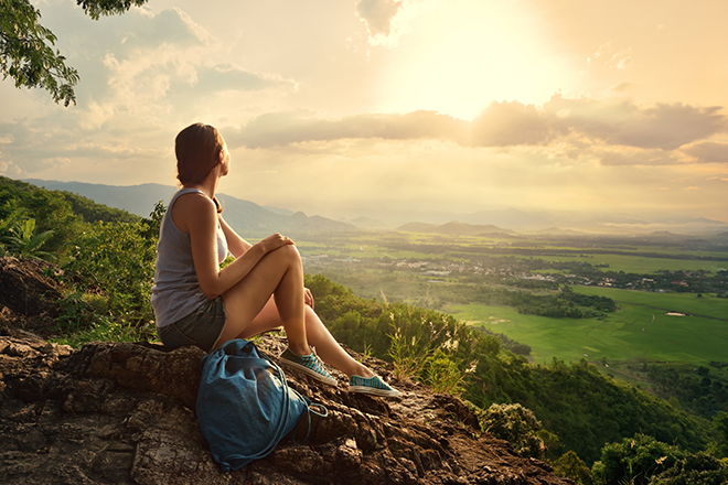 embrace-the-ways-of-india-for-health-woman-sitting-in-nature